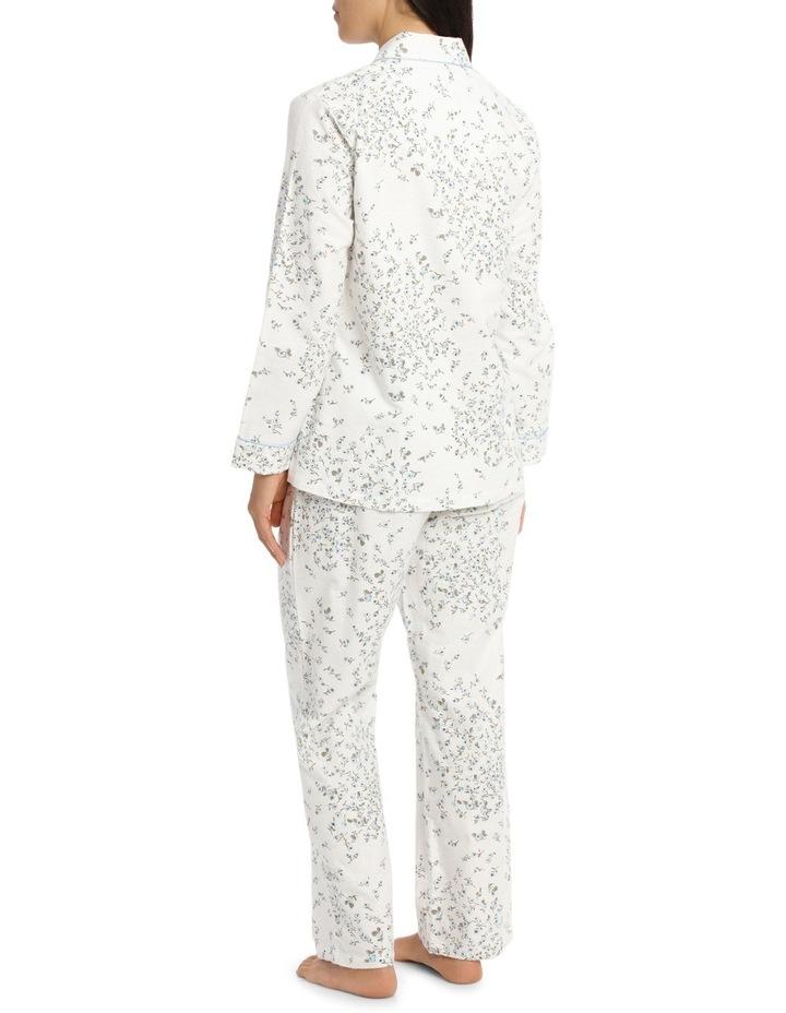 'Printed Flanelette' Jamie Long Pyjama 7FL64J image 2