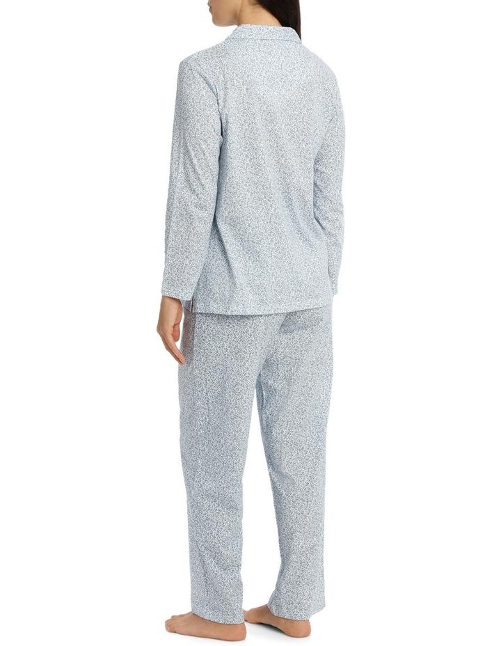 'Printed Cotton Jersey' Dawn Long Pyjama 7LP13D image 2