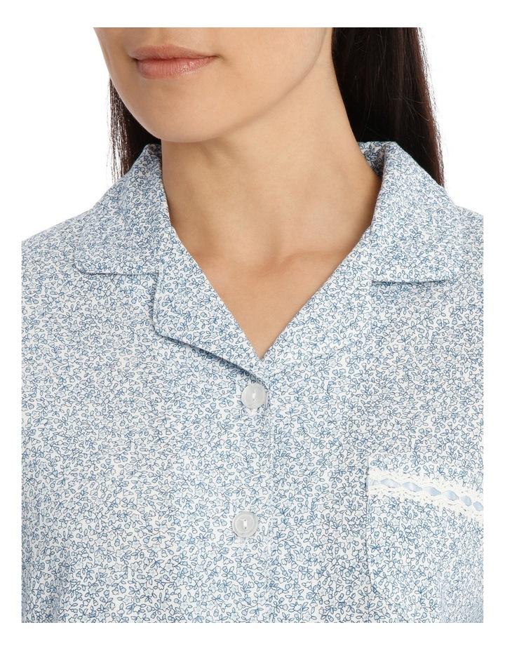 'Printed Cotton Jersey' Dawn Long Pyjama 7LP13D image 3