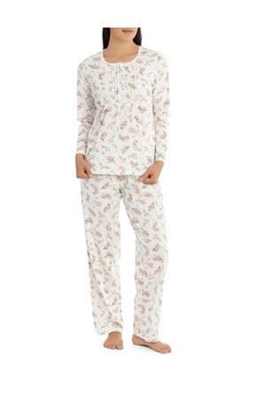 Givoni - 'Printed Cotton Jersey' Posy Long Pyjama 7LP28P