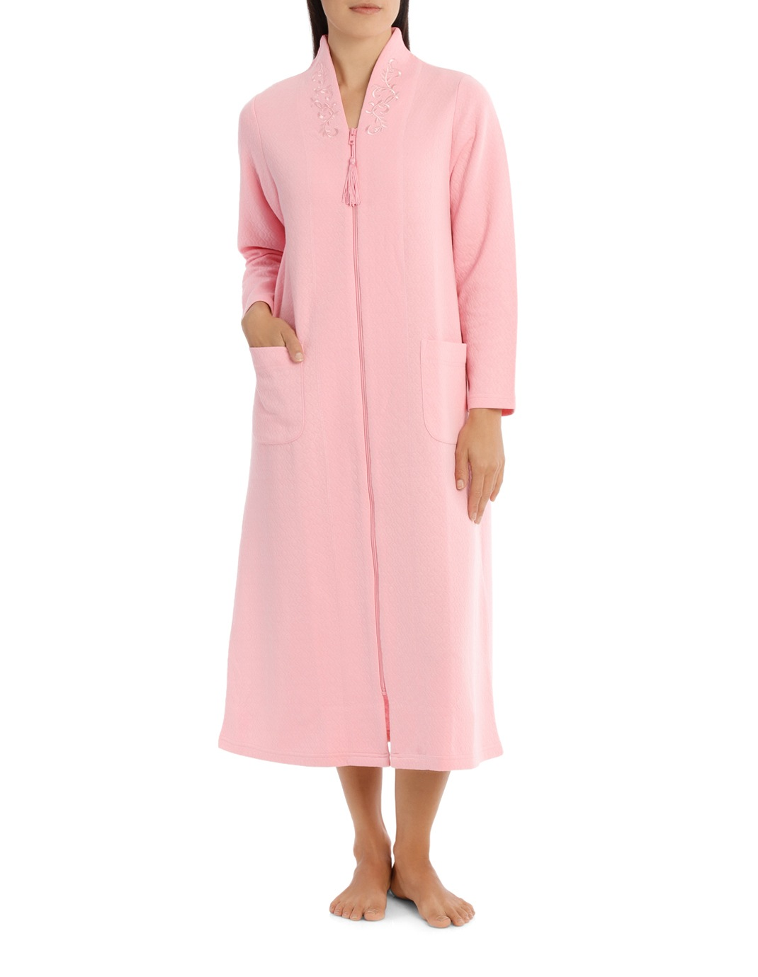 Givoni | \'Jacquard Double Knit\' Geo Diamond Midlength Zip Gown 7SQ70 ...