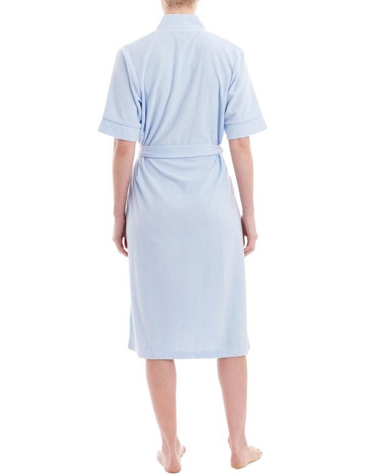 Jacquard Knit Short Robe 2TY75 image 2