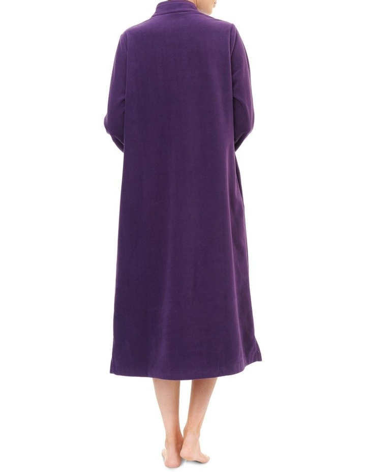 Highpile Midlength Button Gown 3GB82 image 2