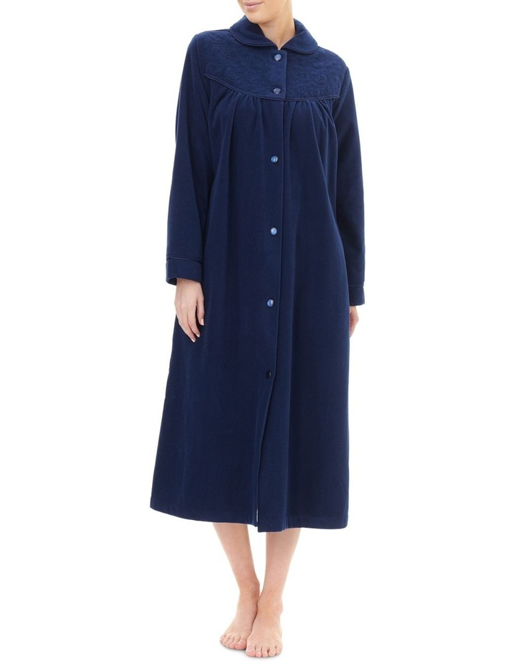 Highpile Midlength Button Gown 3GB92 image 1