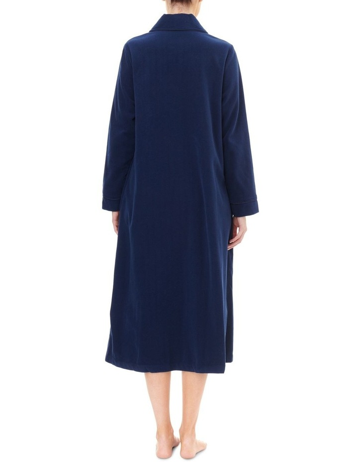 Highpile Midlength Button Gown 3GB92 image 2