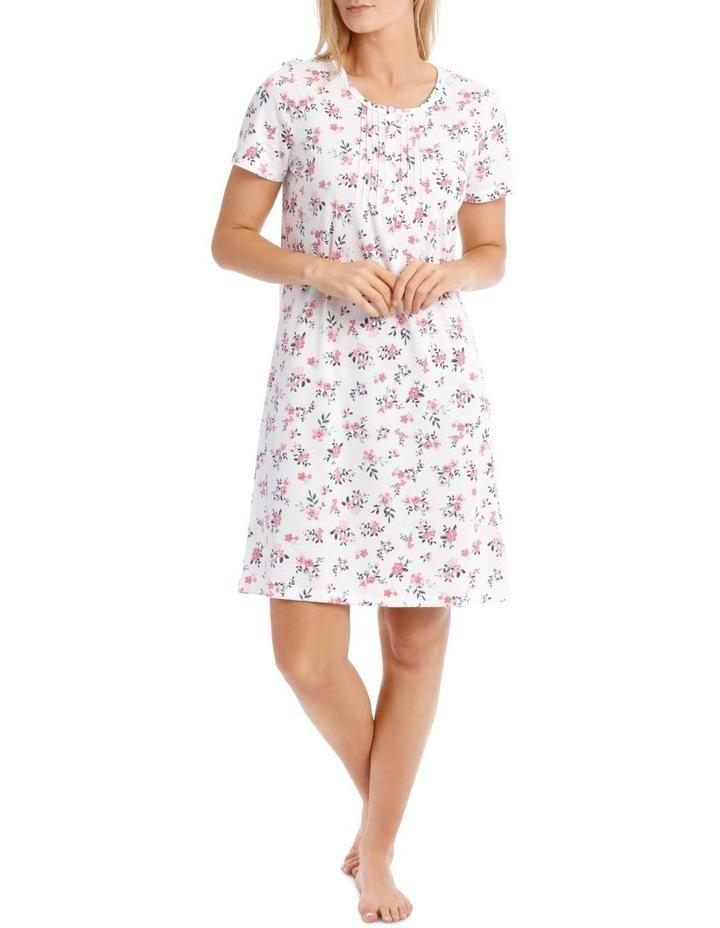 Blanche Short Sleeve Nightie image 1
