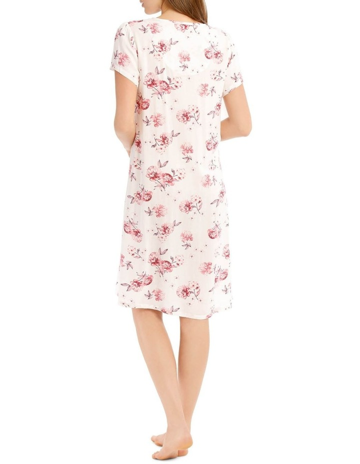 Chelsea Flower Show Woven Mid-Length Short Sleeve Nightie image 2