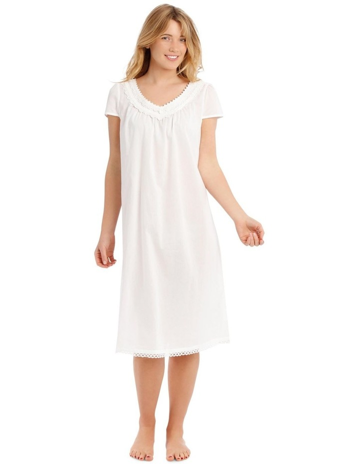 Covent Garden Woven Short Sleeve Nightie image 1