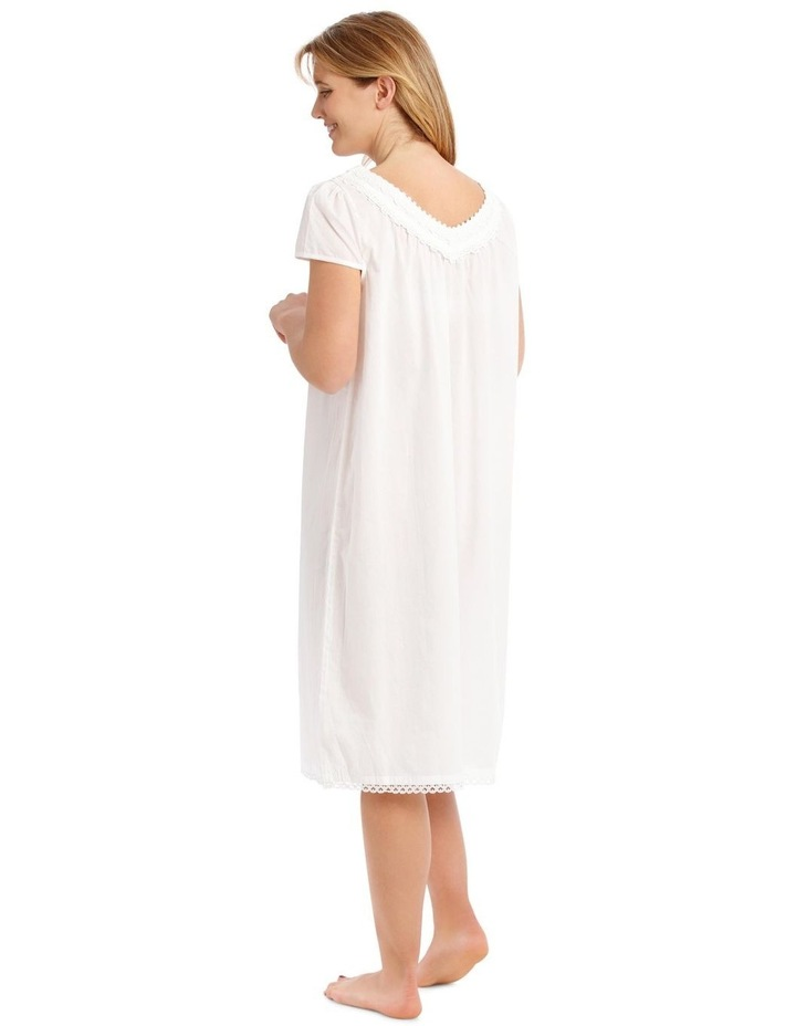 Covent Garden Woven Short Sleeve Nightie image 2