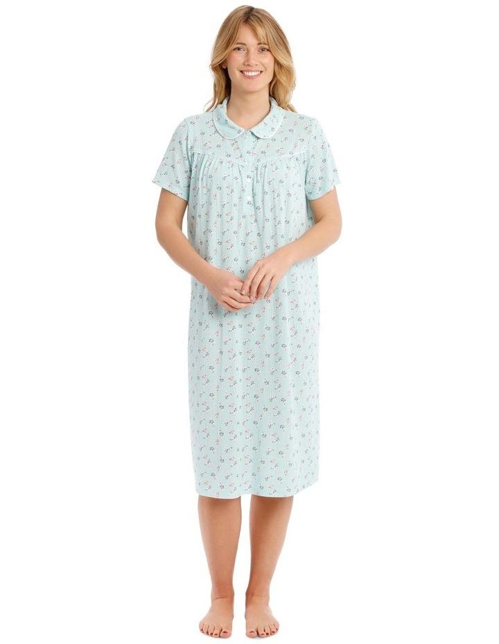 Covent Garden Knit Short Sleeve Nightie image 1