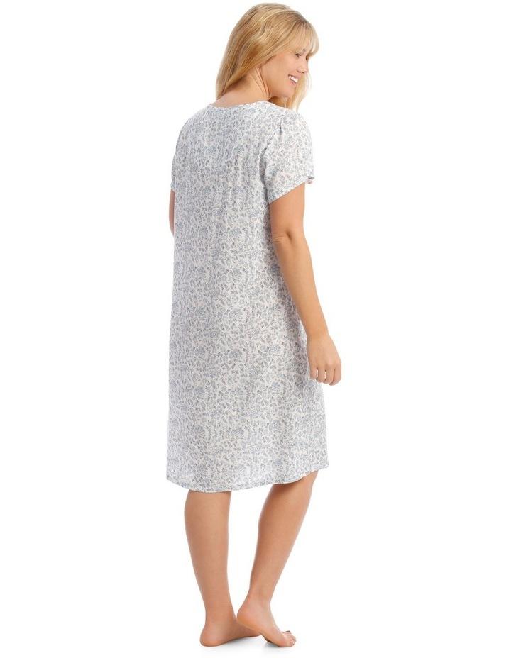 Woven Mid-Length Short Sleeve Nightie image 2