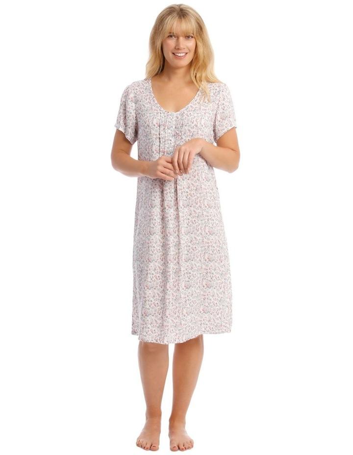 Woven Mid-Length Short Sleeve Nightie image 1
