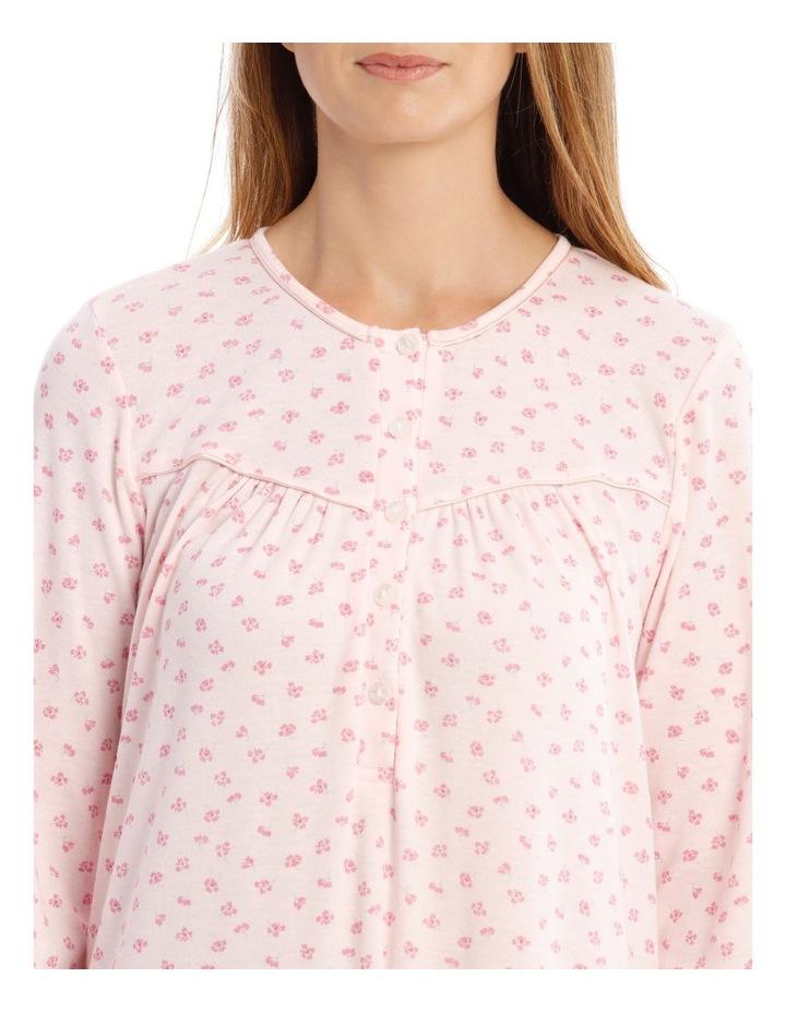 Hampshire Long-Sleeve Knit Nightie image 3