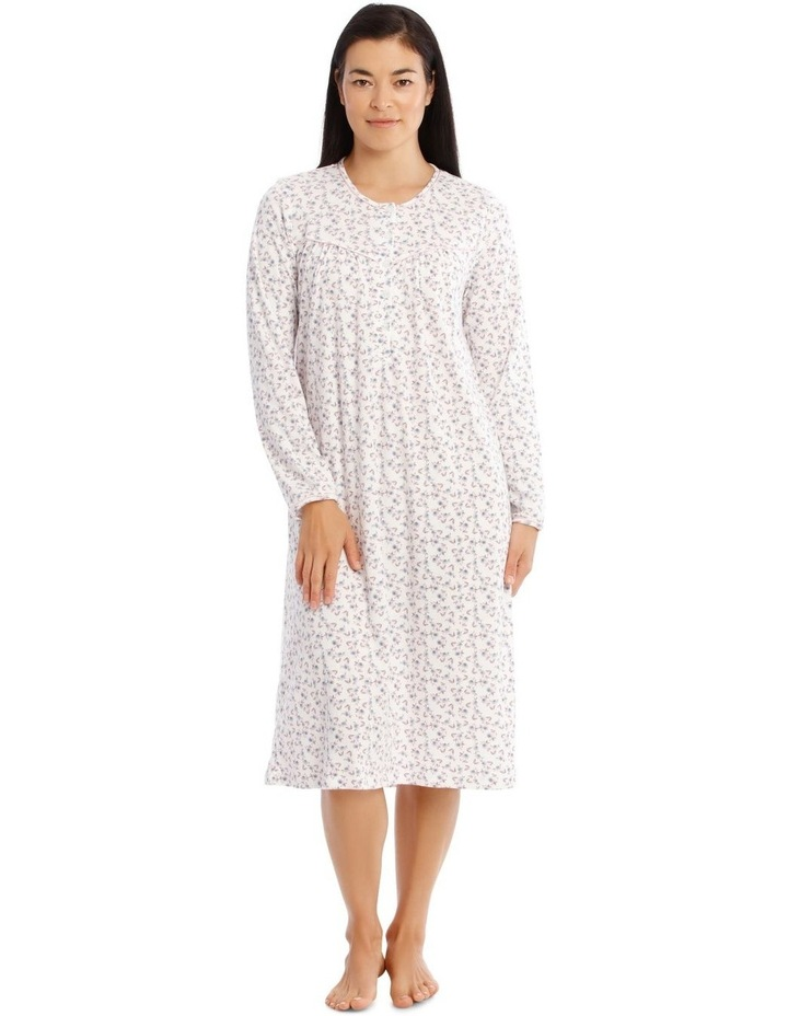 Hampshire Knit Mid-Length Long Sleeve Nightie image 1