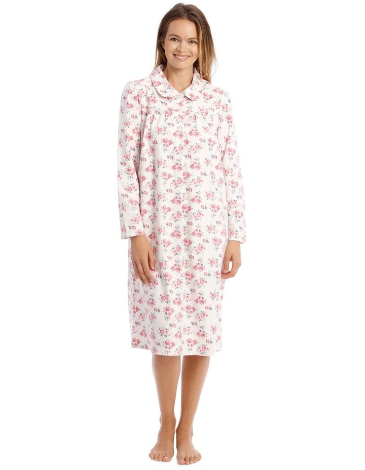 Hampshire Long-Sleeve Woven Flannel Nightie image 1