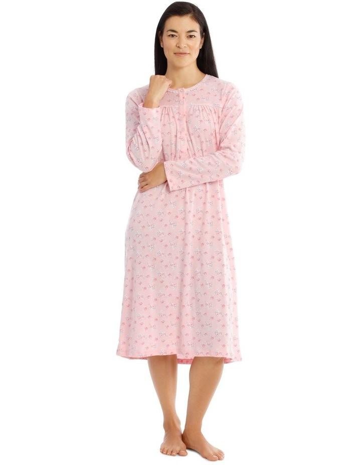 Hampshire Knit Mid-Length Long Sleeve Nightie image 1