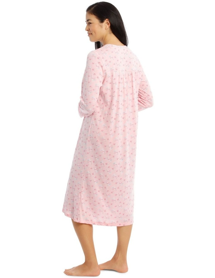Hampshire Knit Mid-Length Long Sleeve Nightie image 3