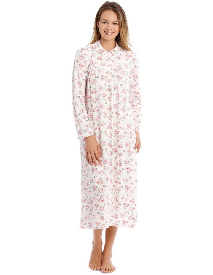 Downton Manor Long-Sleeve Knit Nightie image 1