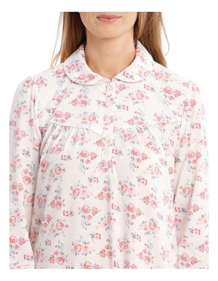 Downton Manor Long-Sleeve Knit Nightie image 3