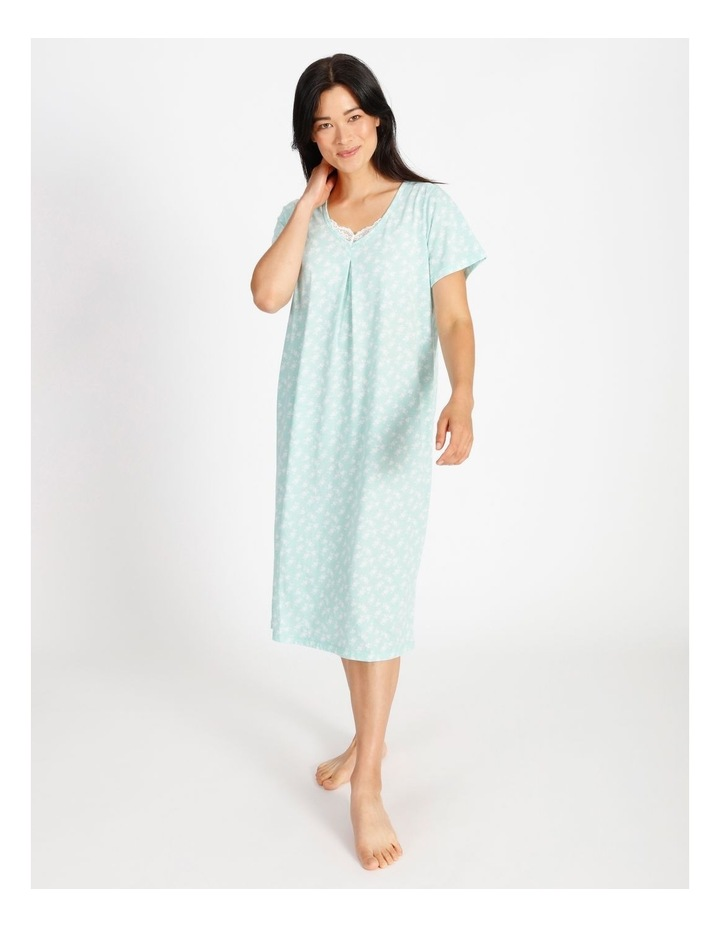 Knit Short Sleeved Nightie image 1