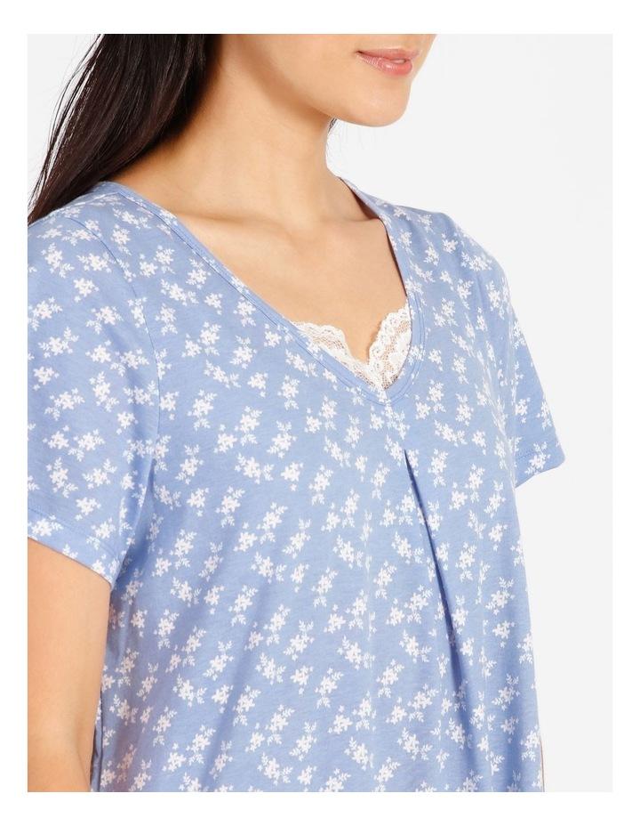Knit Short Sleeve Nightie image 3