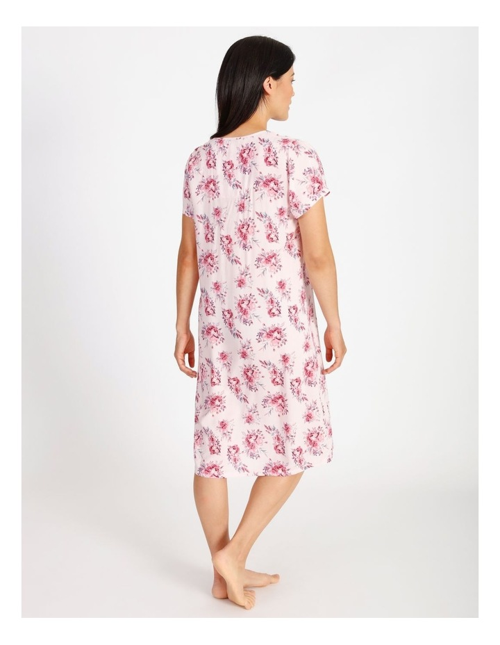 Woven Mid-Length Short Sleeve Nightie image 2