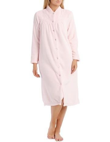 65e5daa1e1 Harper   GraceFloating Lilies Mid-Length Fleece Robe. Harper   Grace  Floating Lilies Mid-Length Fleece Robe