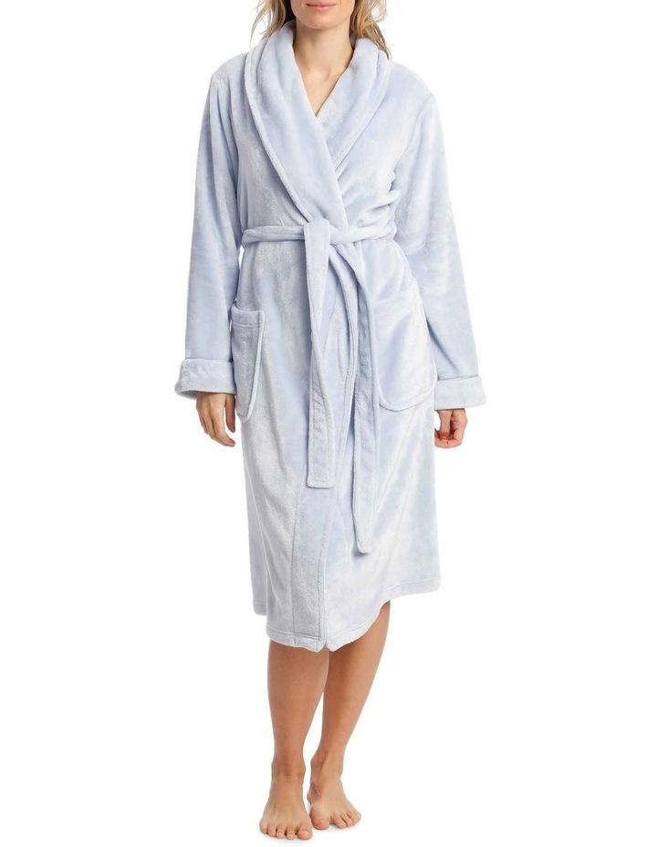 Compton Gardens Woven Fleece Mid-Length Robe image 1