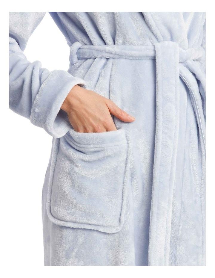 Compton Gardens Woven Fleece Mid-Length Robe image 2