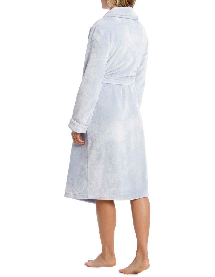 Compton Gardens Woven Fleece Mid-Length Robe image 3