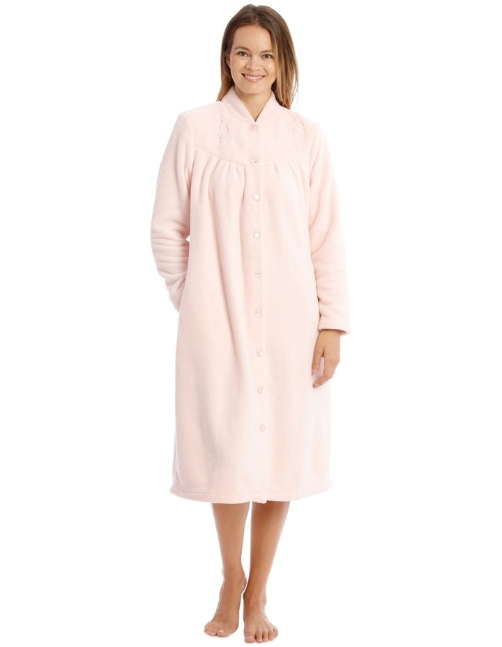 Hampshire Mid-Length Woven Fleece Robe image 1
