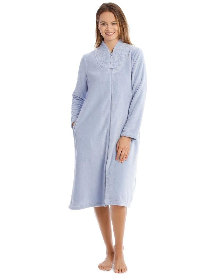 Hampshire Mid-Length Woven Fleece Robe image 1
