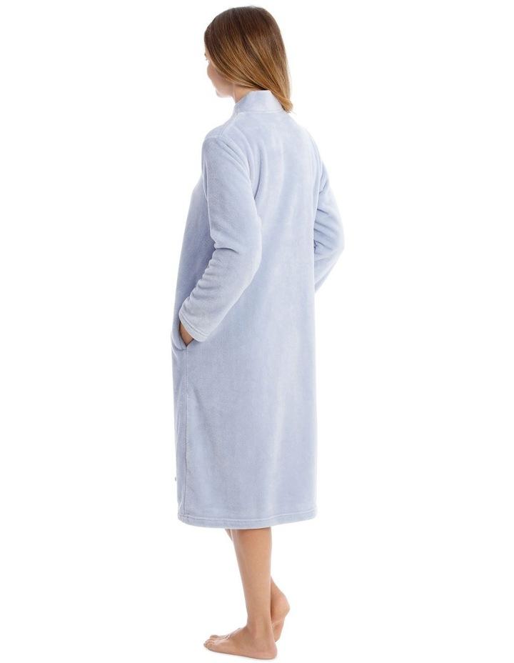 Hampshire Mid-Length Woven Fleece Robe image 2