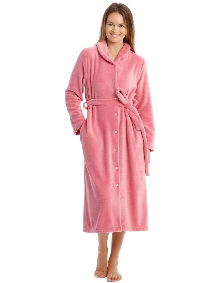 Hampshire Full-Length Woven Fleece Robe image 1