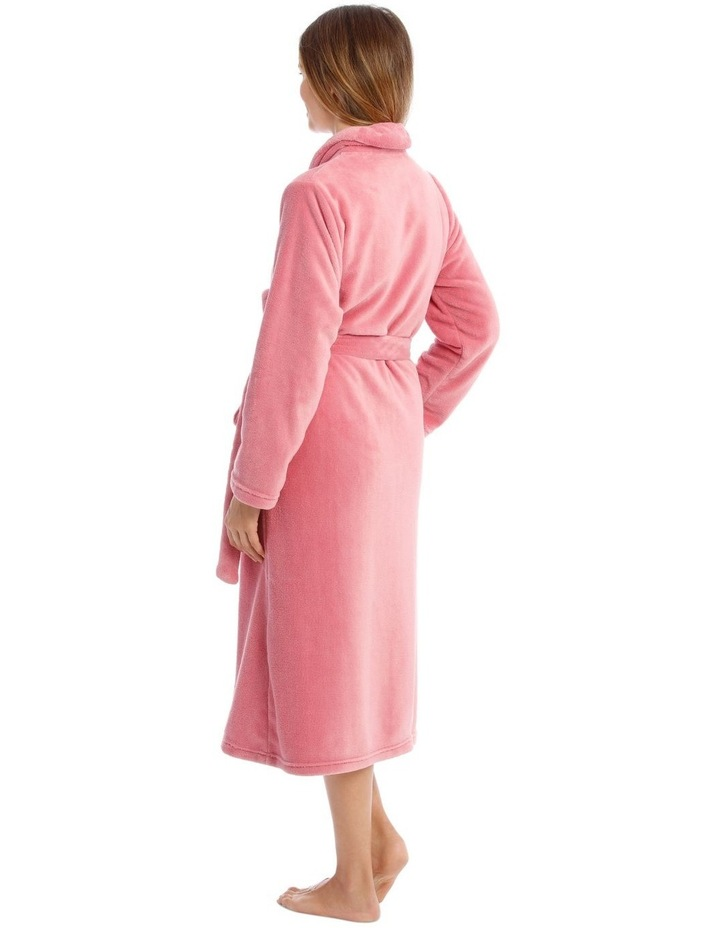 Hampshire Full-Length Woven Fleece Robe image 2