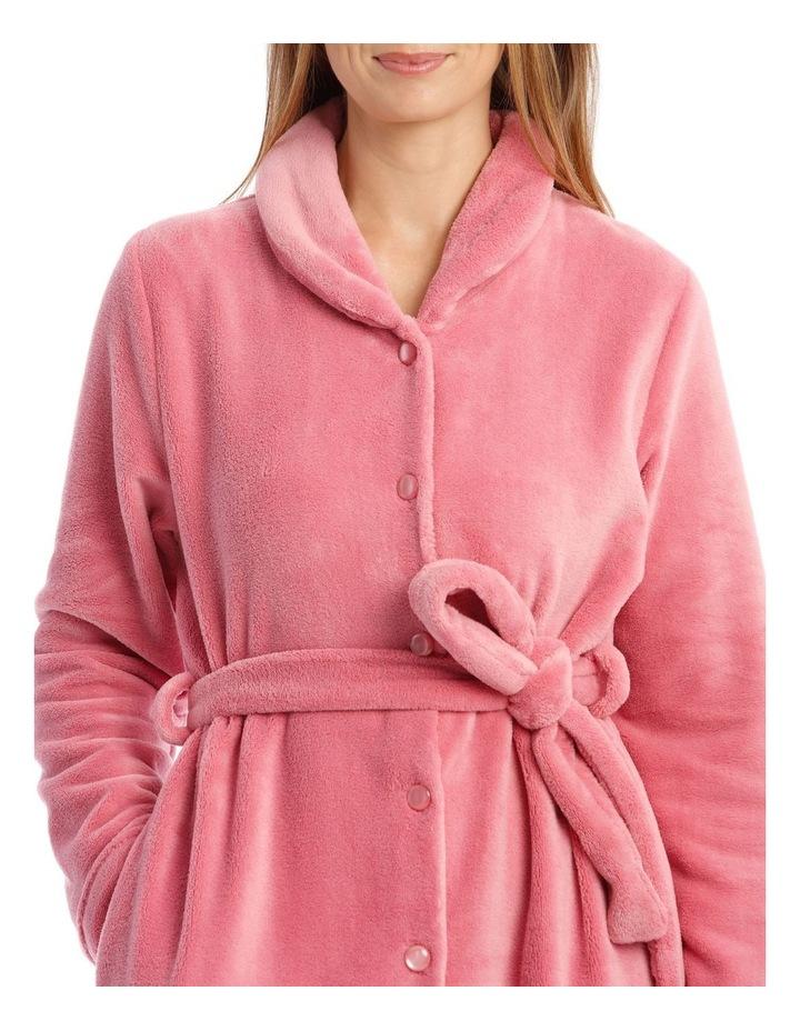 Hampshire Full-Length Woven Fleece Robe image 3