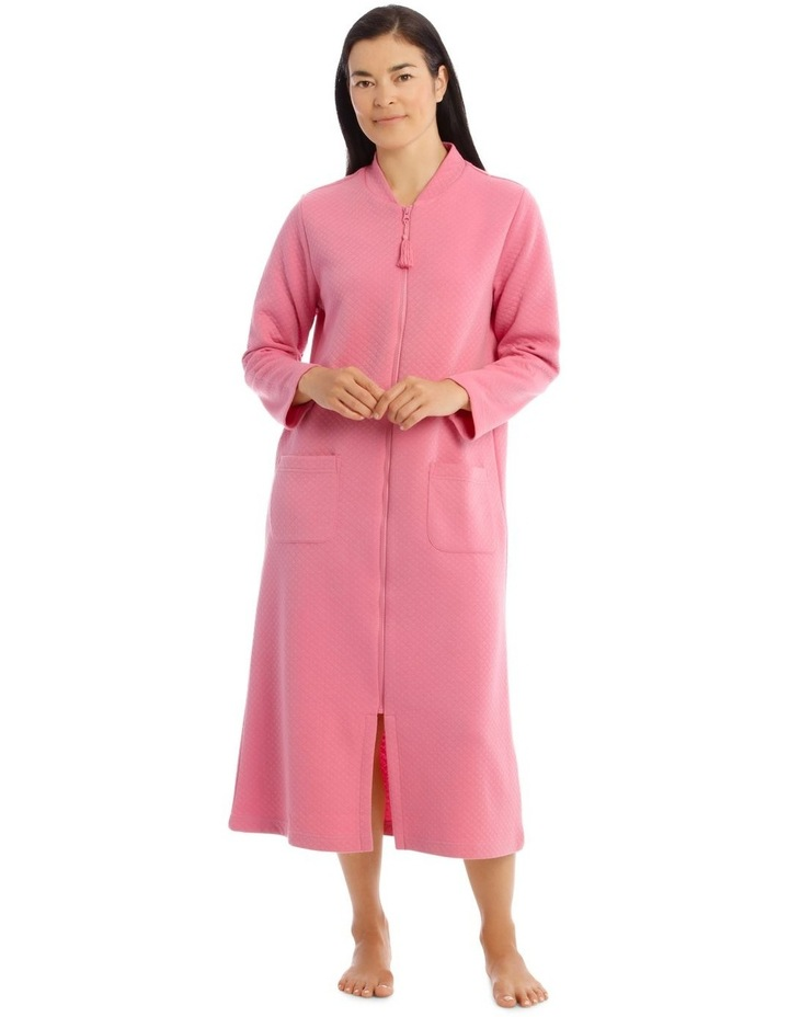 Downton Manor Long-Sleeve Knit Robe image 1
