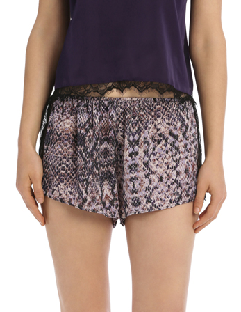 Sleepwear Eyelash Short  Assorted SWCS19004 image 1