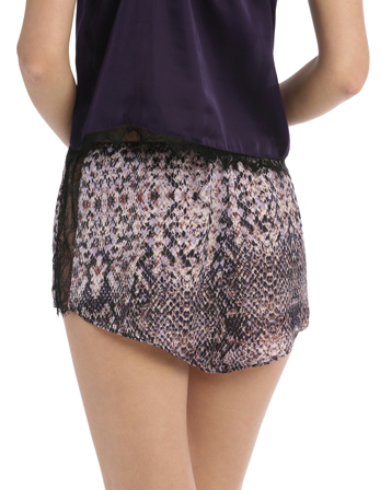 Sleepwear Eyelash Short  Assorted SWCS19004 image 2