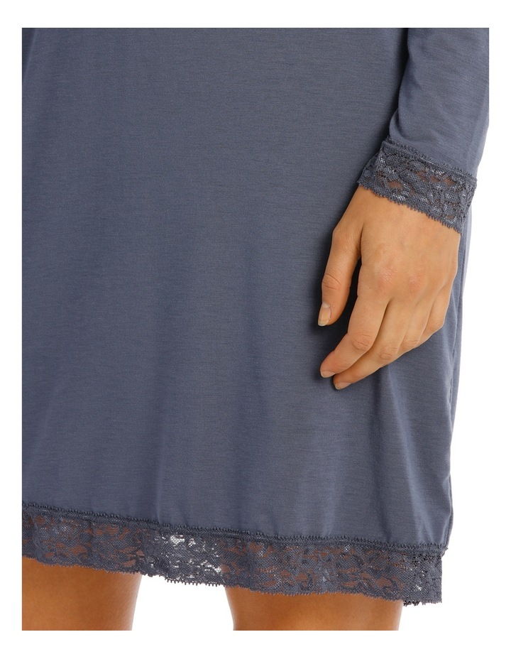 Skyler Long Sleeve Nightie SSOW18028 image 3