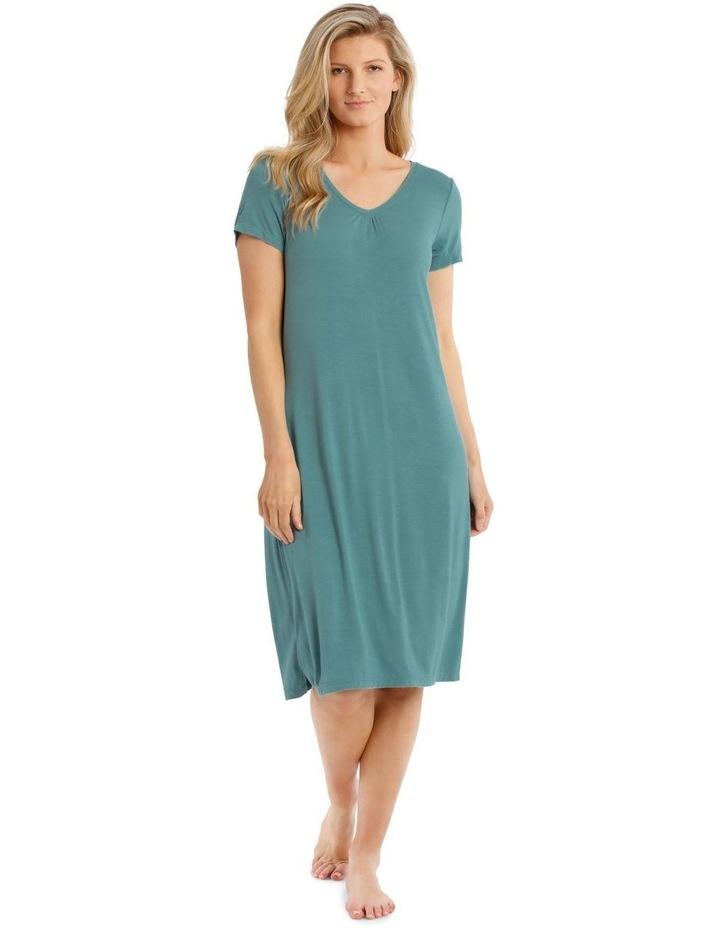 Lucinda Mid-Length Short Sleeve Nightie image 1