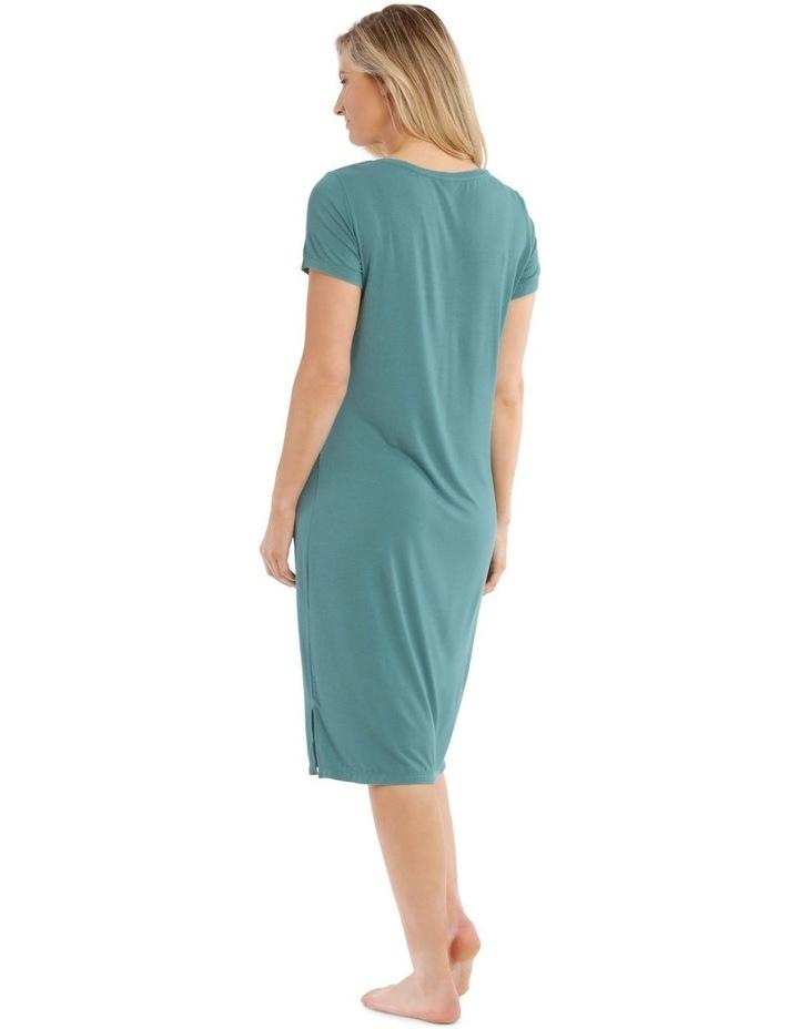 Lucinda Mid-Length Short Sleeve Nightie image 2