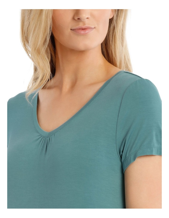 Lucinda Mid-Length Short Sleeve Nightie image 3