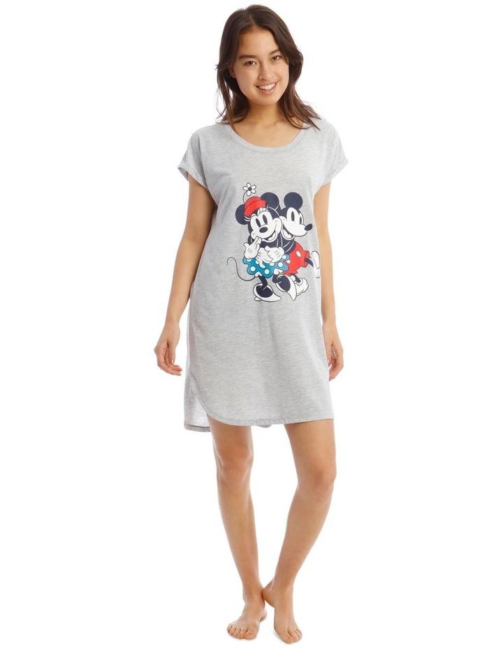 Mickey and Minnie Knit Short Sleeve Nightie image 1