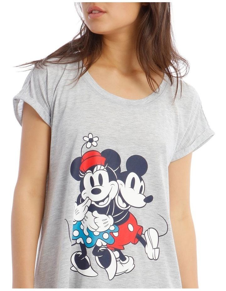 Mickey and Minnie Knit Short Sleeve Nightie image 3