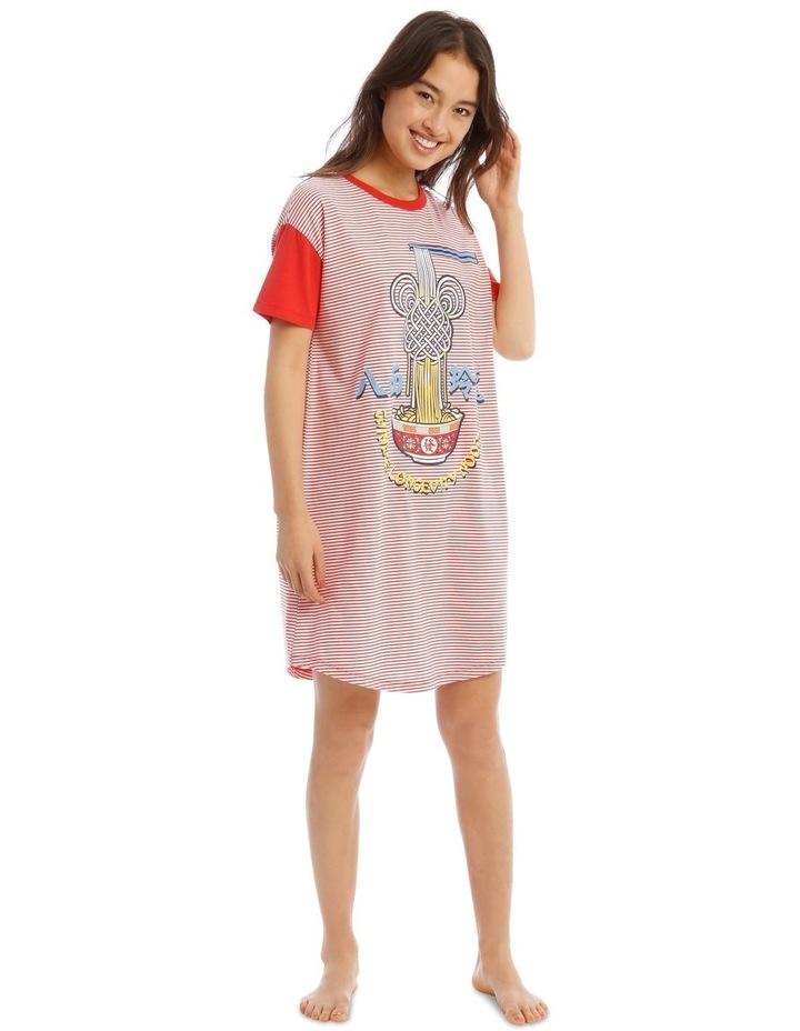 Lucky Mickey Knit Short Sleeves Nightie image 1