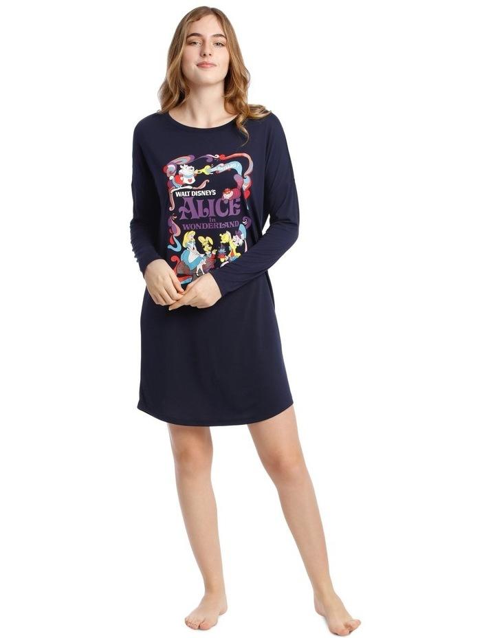 Princesses Knit Long Sleeve Nightie image 1