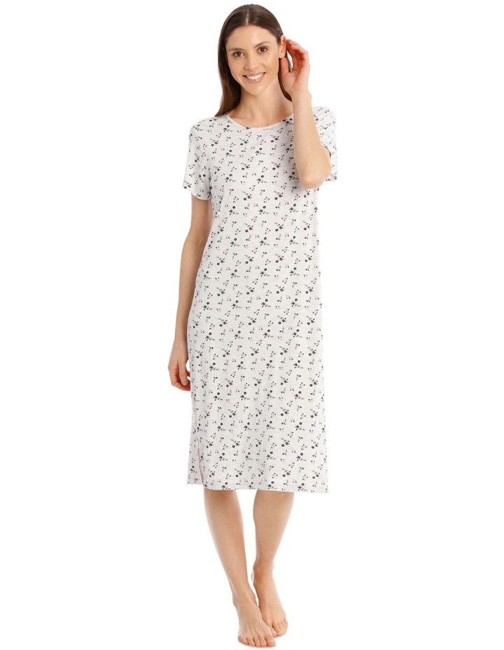 Core Mid Length Short Sleeve Nightie image 1