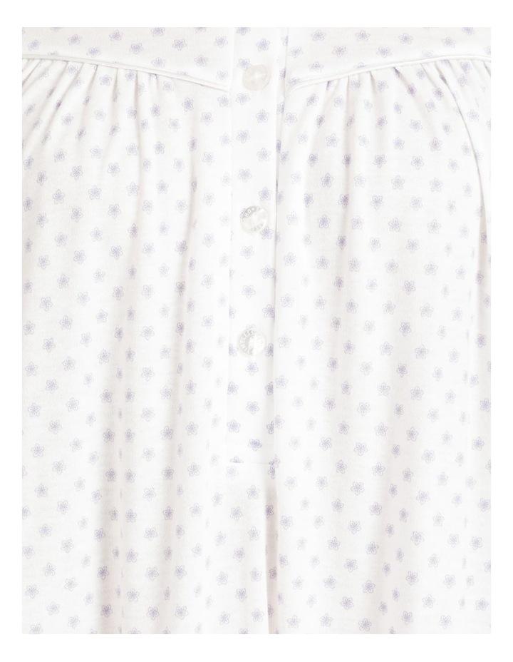 Knit Long Sleeve Mid Length Nightie image 4
