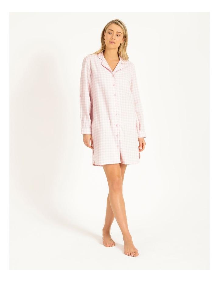 Yarn Dyed Flannel Nightshirt image 1